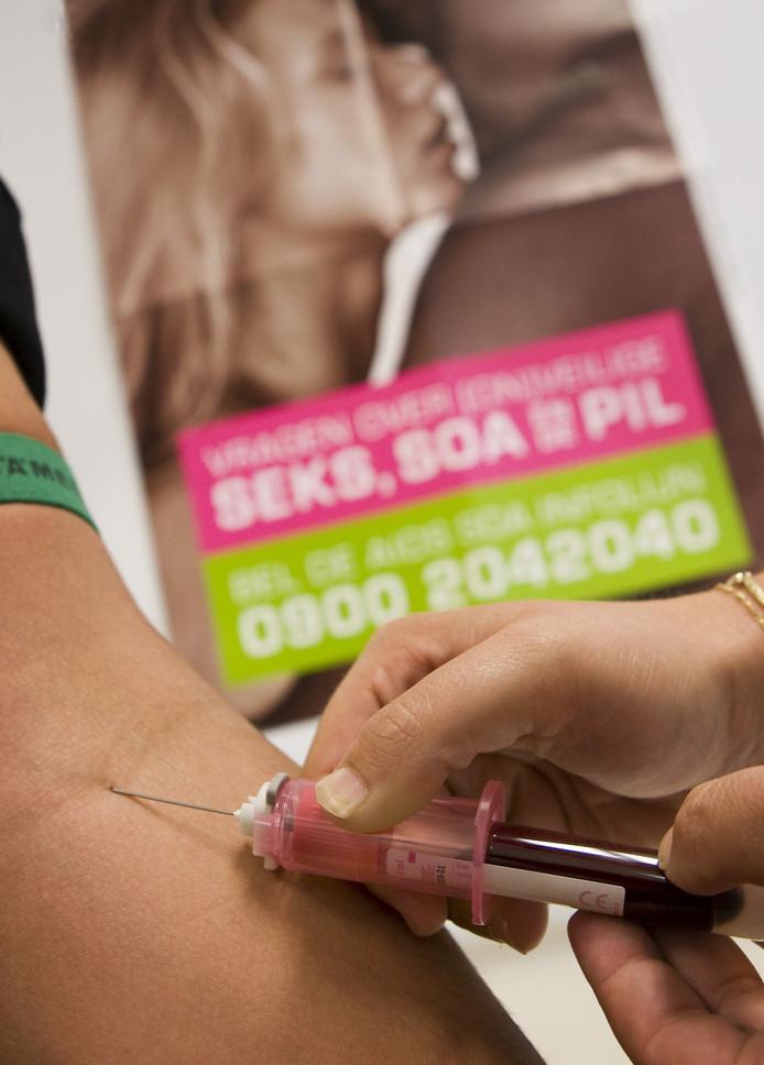 Een hiv-test