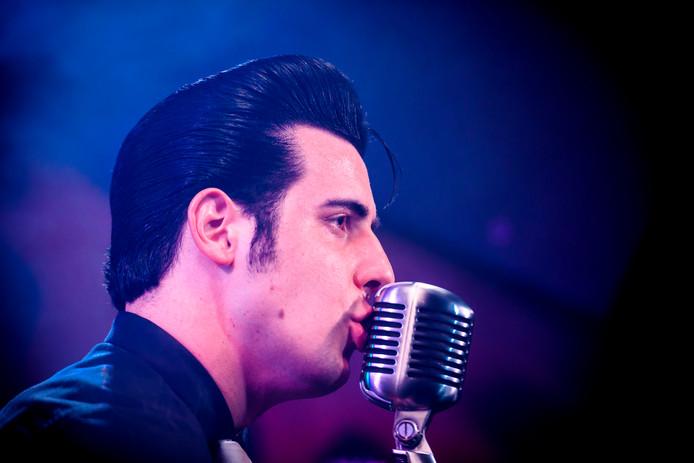 Elvis blijft tot de verbeelding spreken en beheerst zaterdag het Muziekcafé in Helmond.