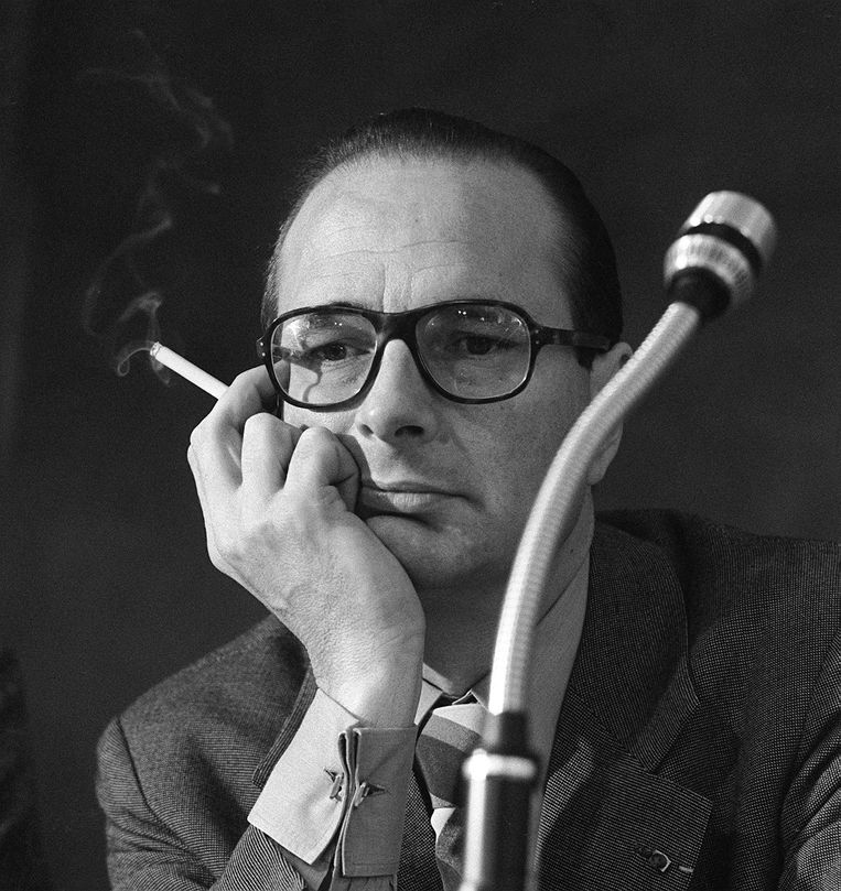 Jacques Chirac in 1976. Beeld AFP