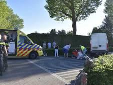 Bromfietser in Woudrichem gewond bij botsing