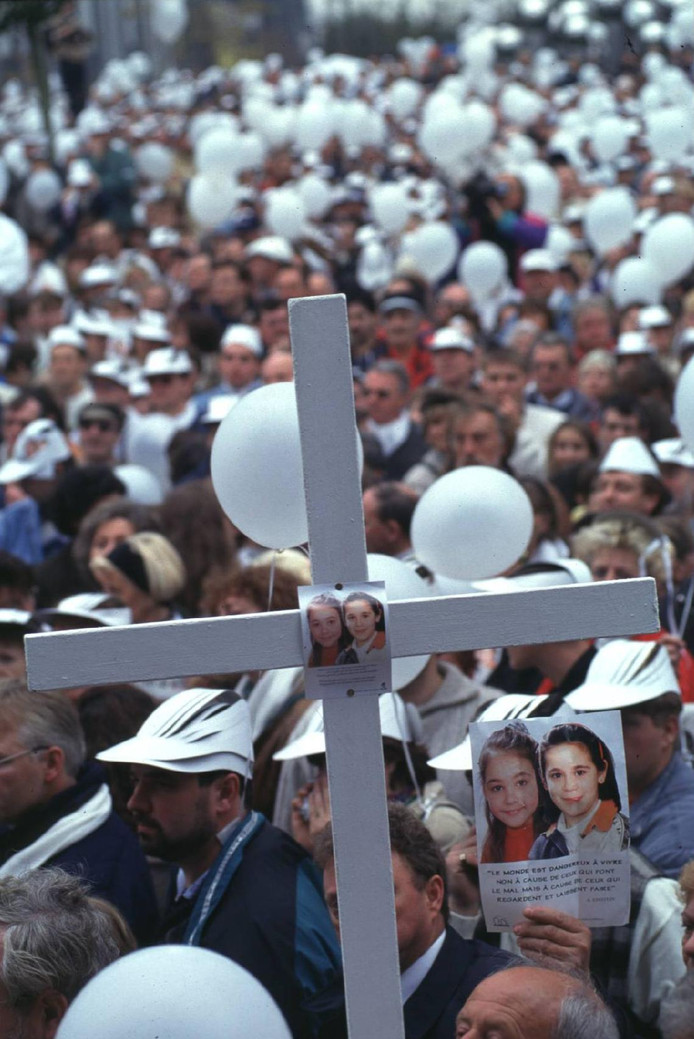 La marche blanche en 1996