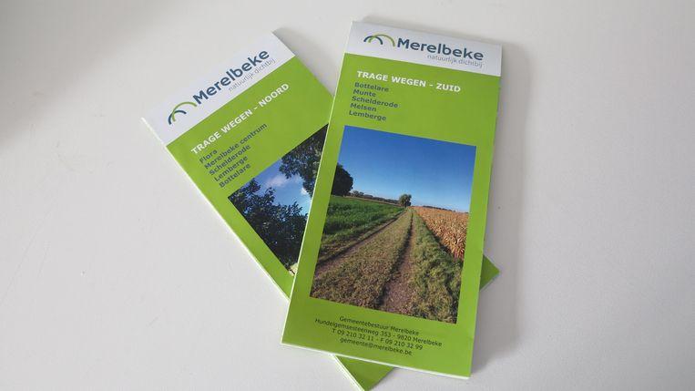 Nieuwe trage wegenkaarten voor Merelbeke.