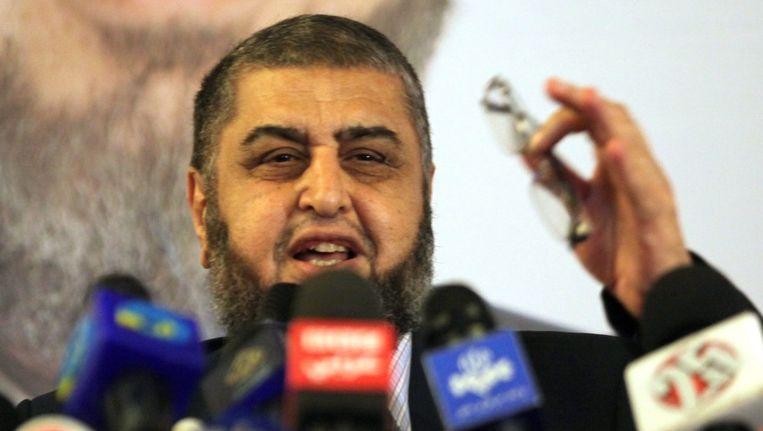 Khairat al-Shater, presidentskandidaat van de Moslimbroeders. Beeld epa