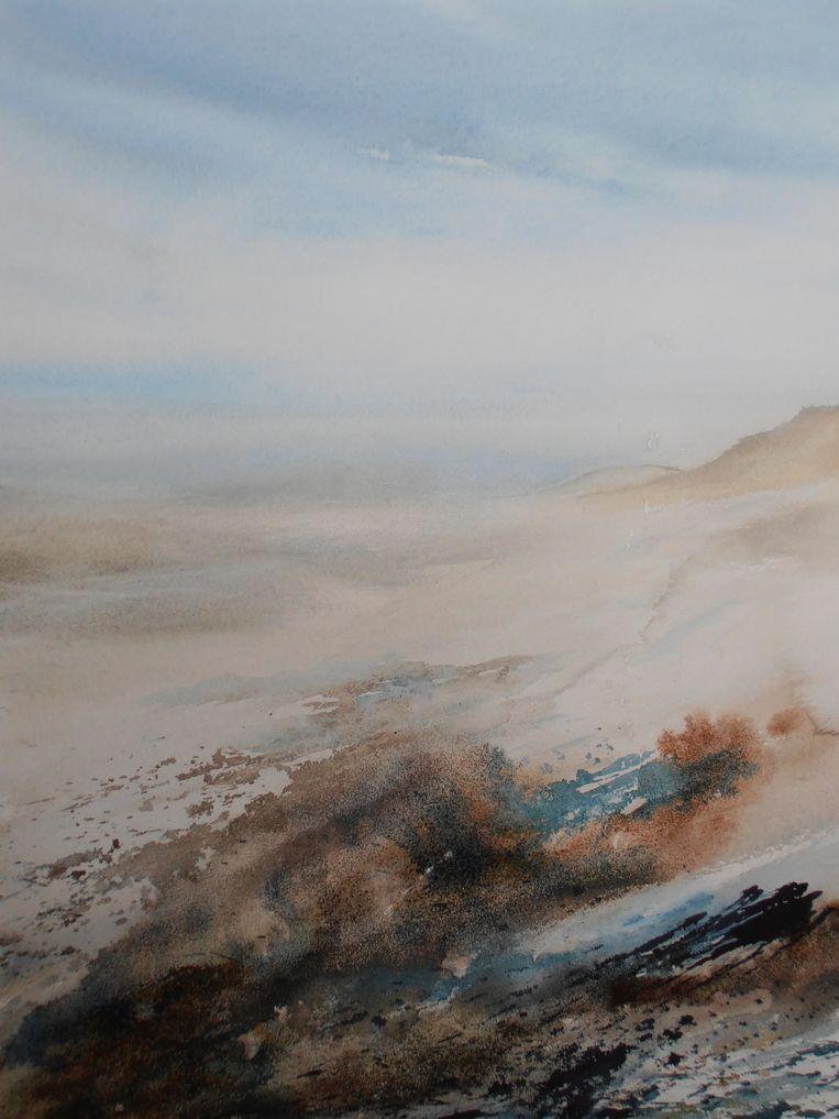 Een werk van Ingrid Van den Broeck