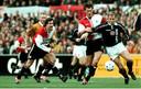 Henk Vos in 1998 tegen Ajax