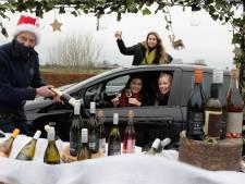 Wijn kopen - en stiekem proeven - vanuit de auto