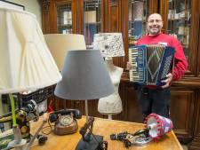 Van gehaktmolen naar lamp: Rini Janssen geeft producten een tweede leven