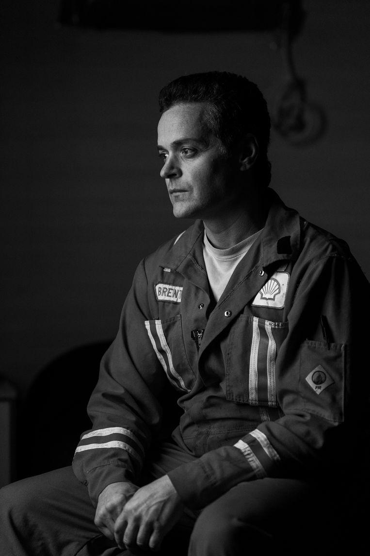 Brent Hope werkt als projectmanager in het boorgebied van Shell. Beeld Pablo E. Piovano