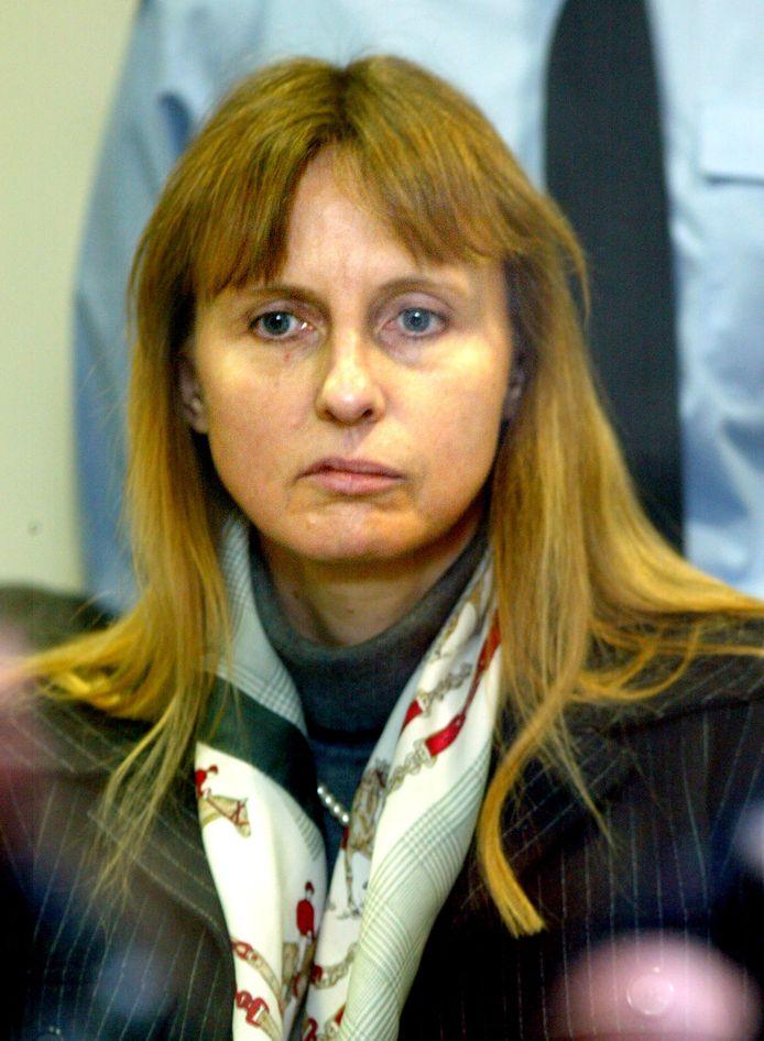 Michelle Martin à la cours d'assises d'Arlon, le 1er mars 2004