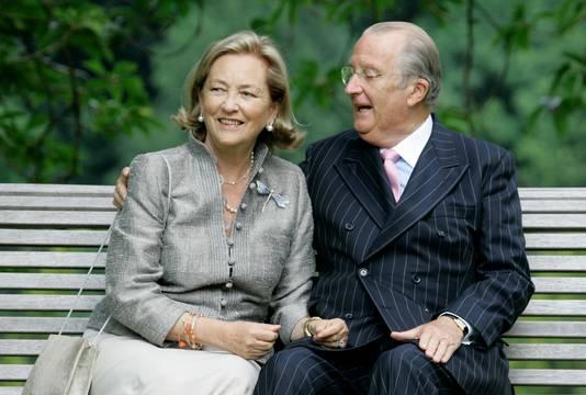 Paola et Albert, en septembre 2008.