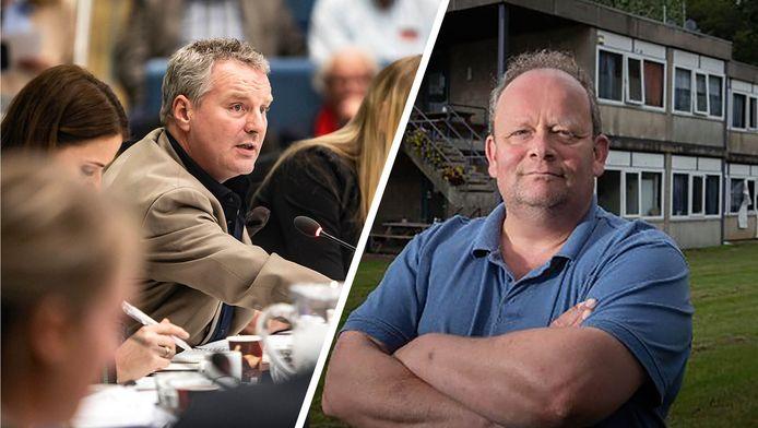 Remmert Keizer (uitzender en politicus van GemeenteBelang Westland) en FNV-vakbondsman Bart Plaatje gaan in debat over arbeidsmigranten.