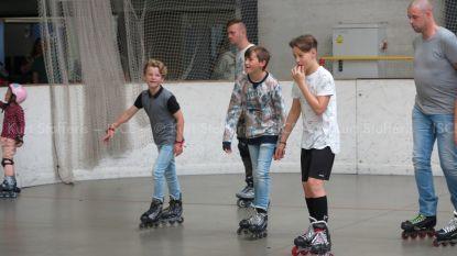 Inline Skating Club Eeklo bindt rolschaatsen aan voor vzw Heldenhuis