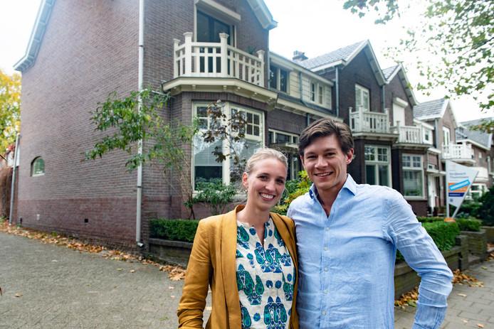 Paul Teunissen en Maremka Zwinkels verhuizen in december van Amsterdam naar Nijmegen.