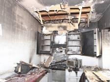 Brand in leegstaand pand op landgoed Haarendael Haaren verwoest keuken