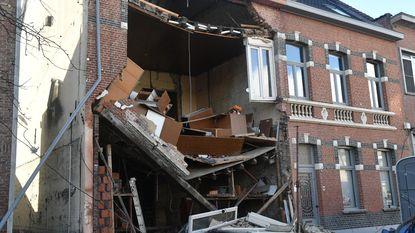 Huis stort in tijdens renovatie