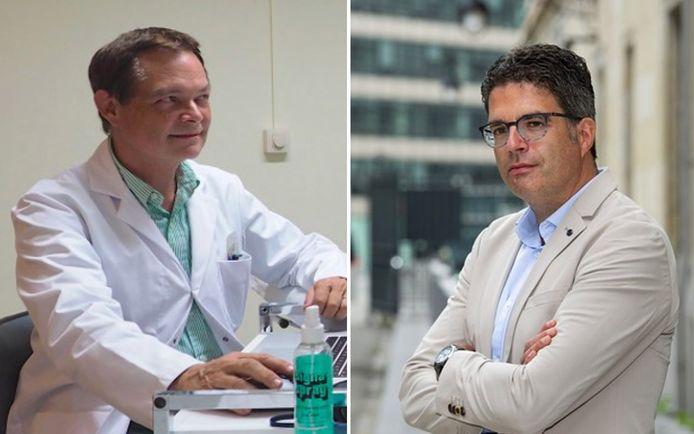 Cardioloog Thierry Wauters pleit voor de invoering van een 'immuunpaspoort', maar viroloog Steven Van Gucht vindt dat geen goed idee.