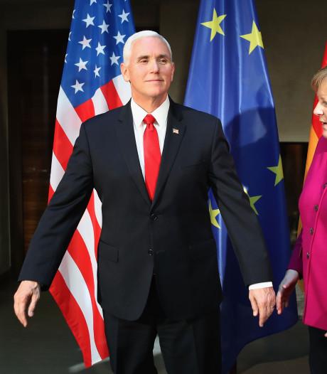 Pence maant Europese landen: verzet je tegen de pijplijn van Merkel en Poetin