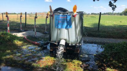 Als grondwater niet opnieuw de grond in kan, dan moet het beschikbaar zijn voor inwoners