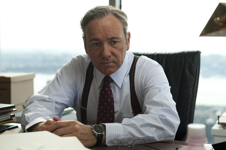 Kevin Spacey in Margin Call. Beeld