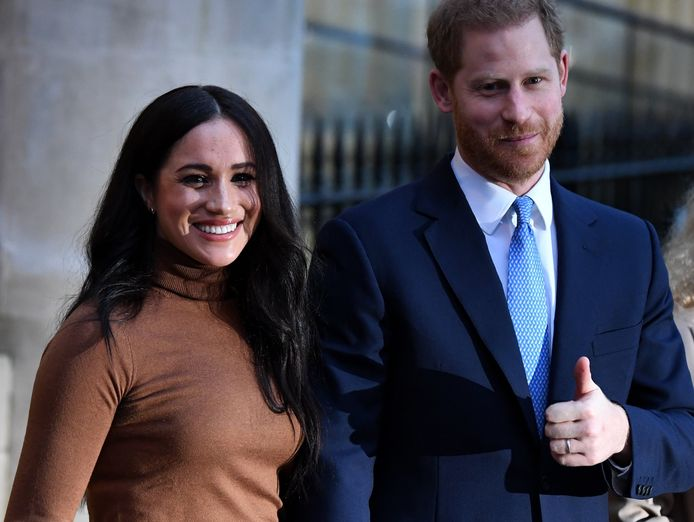 Prins Harry en Meghan.