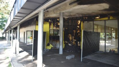 Brand in basisschool in Zaventem blijkt aangestoken, leraars poetsen om alles klaar te krijgen tegen maandagochtend