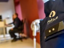 Le nombre d'absents pour maladie ou visite médicale à la police de Charleroi