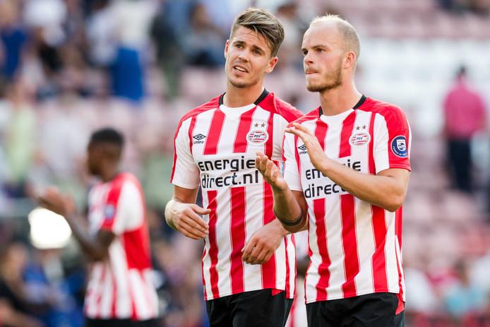 Marco van Ginkel en Jorrit Hendrix blijven bij PSV