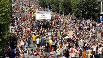 Antwerp Pride kleurt straten: 60.000 à 90.000 bezoekers voor elfde editie