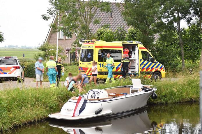 Persoon zwaargewond na stoten hoofd tegen Ziendebrug Zwammerdam