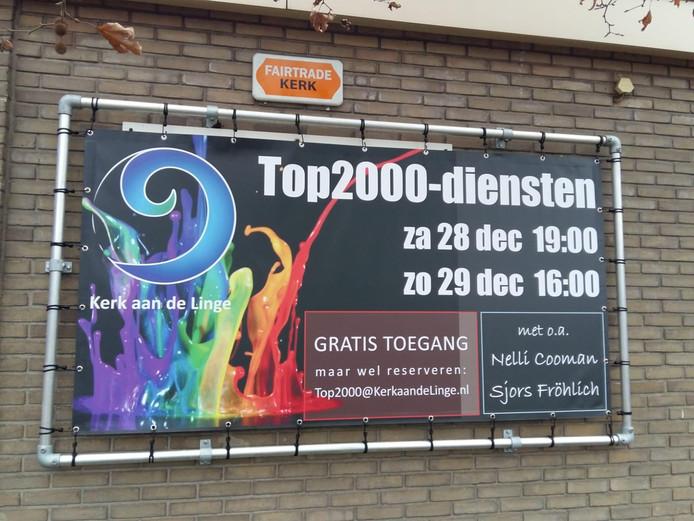 De eerder aangekondigde Top 2000-diensten in de Bethelkerk van Leerdam.