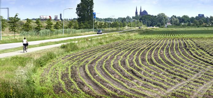 De gemeente Uden had grond aan de Corridor op het oog voor een azc.