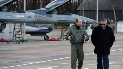"""LIVE - Vandeput geeft uitleg over F-16-rapport, oppositie woest: """"Hij heeft zwart op wit dingen gezegd die niet kloppen"""""""