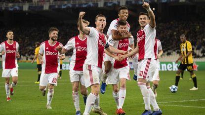Hoogdag voor Ajax: Amsterdammers plaatsen zich voor het eerst in dertien jaar voor knock-outfase Champions League