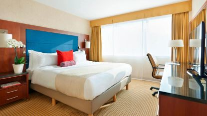 Marriott hotels nagenoeg leeg vanwege reisverbod