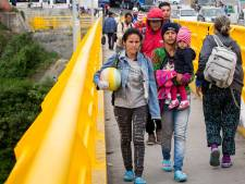 Op slippers vluchten uit Venezuela