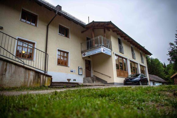 Het hotel op de oevers van de rivier Ilz in Passau, in het zuiden van Duitsland.