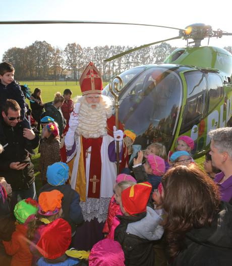 Sint per heli naar Klarenbeek