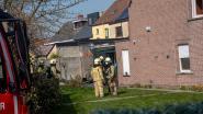 Huis onbewoonbaar door rookschade  na brand in veranda