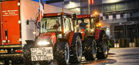 Boeren spelen zaterdagnacht kat-en-muisspel met politie in Friesland