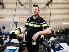 'Ik zie die politiemotor liggen en denk: fuck, dit is foute boel'