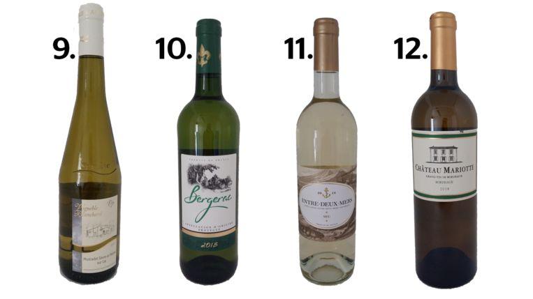 9. Vignoble Blanchard Muscadet Sèvre & Maine 10. Bergerac 11. Entre-Deux-Mers 12. Château Mariotte