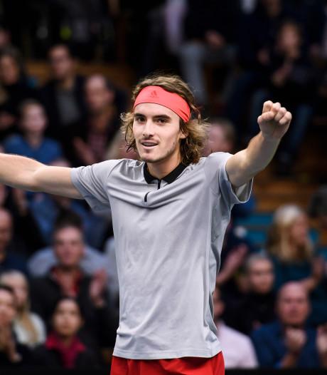 Tsitsipas wint zijn eerste ATP-toernooi in Stockholm