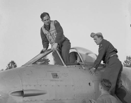 Piloot Jan Flinterman.