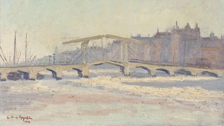 Karel Appel, Ophaalbrug Amsterdam, 1942 Beeld Collectie Rijksdienst voor het Cultureel Erfgoed