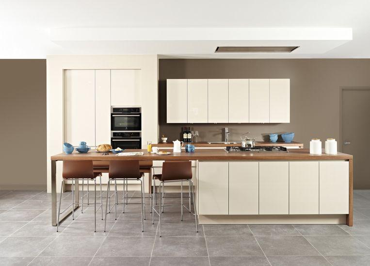 Keukenkast Met Glazen Deuren.Keukens Met Glazen Deuren In Opmars Nieuws Hln