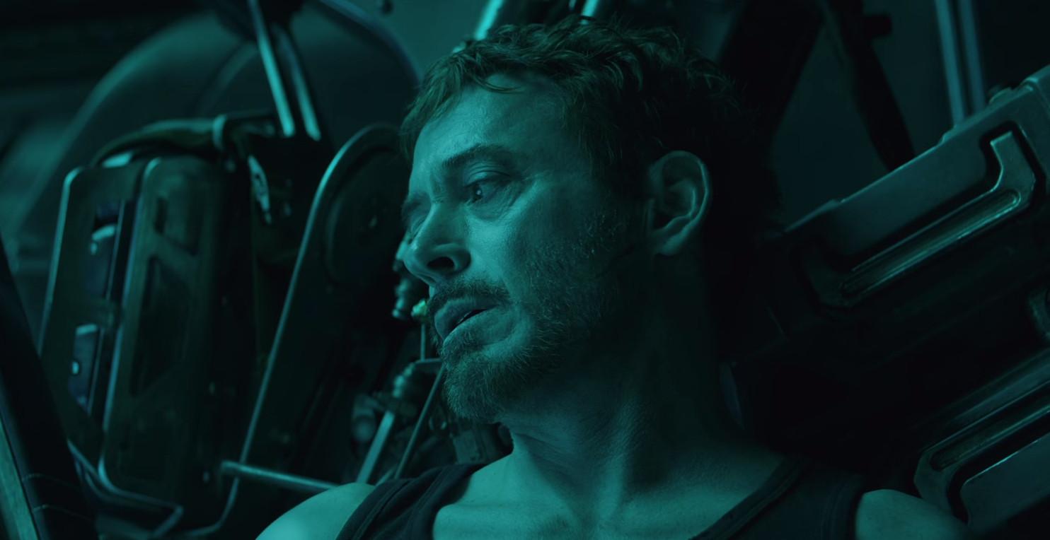 Robert Downey jr. in de film.
