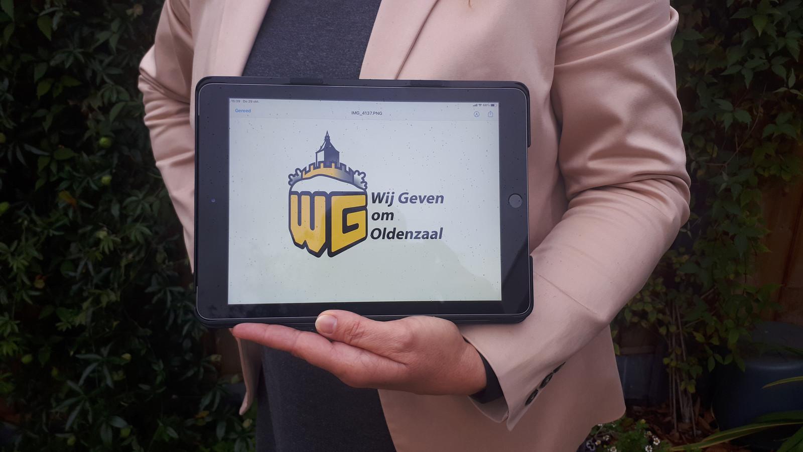 Een aangepast logo en een nieuwe betekenis van de afkorting WG. Werknemers Groepering gaat nu verder als Wij Geven om Oldenzaal.