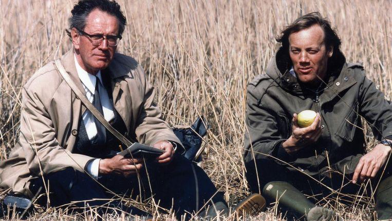 Martin Melchers (r) en Jacobus Walters, in 1979 Beeld Collectie Martin Melchers