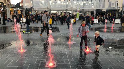 Fonteinen op Grote Markt werken opnieuw