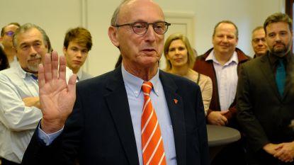 Frank Boogaerts blijft zen bij eedaflegging als burgemeester
